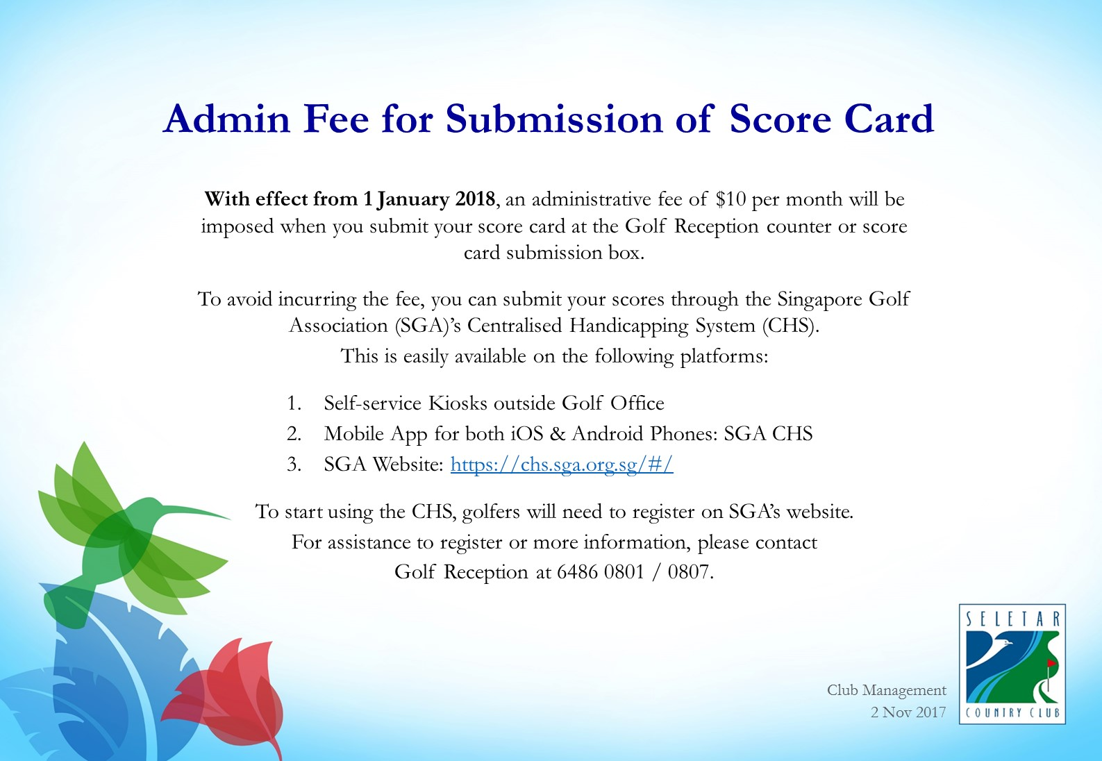 Admin Fee for Submission of Score Card_Final1