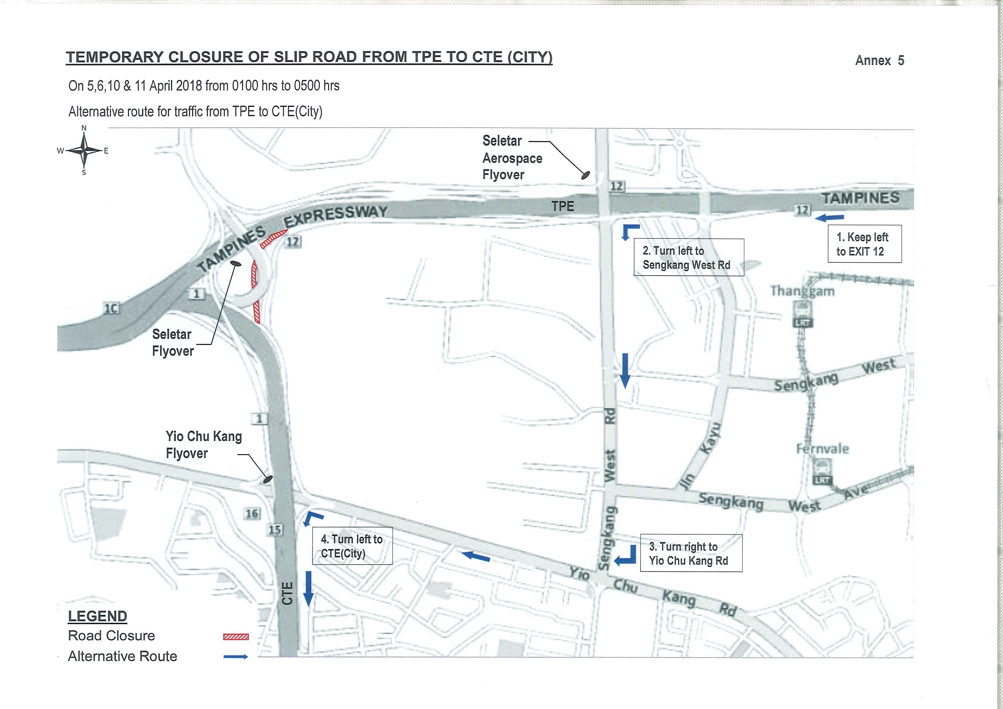 ER490A SLE(both bounds) 3-4,12-13,18-19Apr18 and slip rd from TPE to CTE(City) 5-6,10-11Apr18 External 5