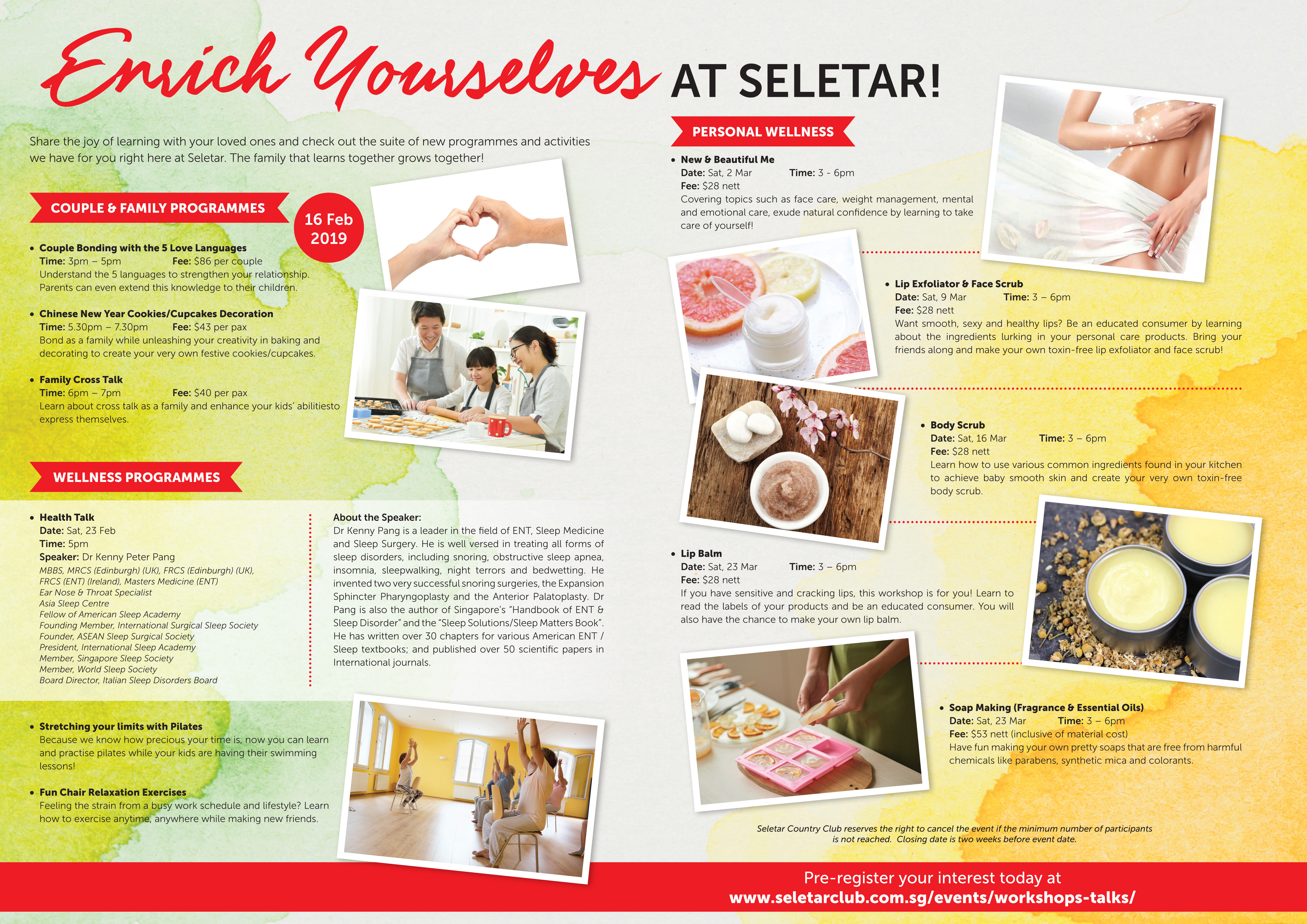 Enrich Yourself Poster