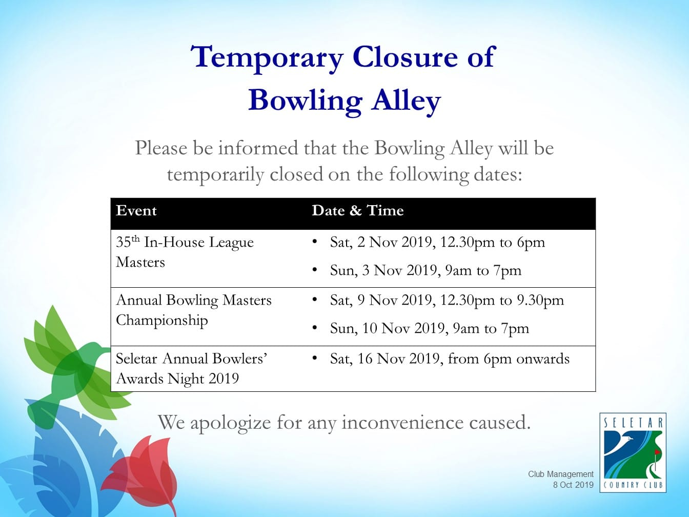 Notice_BowlingClosure_Nov2019