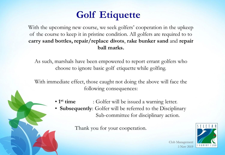 Golf Etiquette_5 Nov