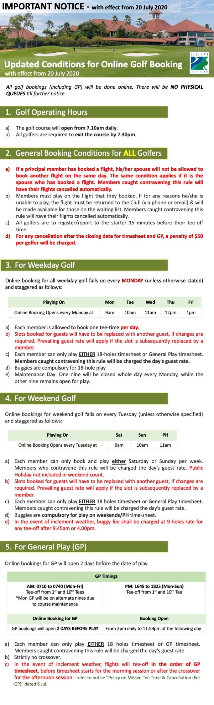 20200704_ Golf booking conditions_New Norm
