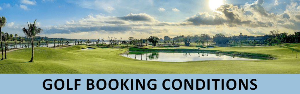 golf booking conditions