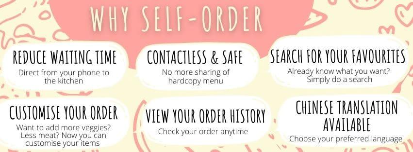 Why self-order