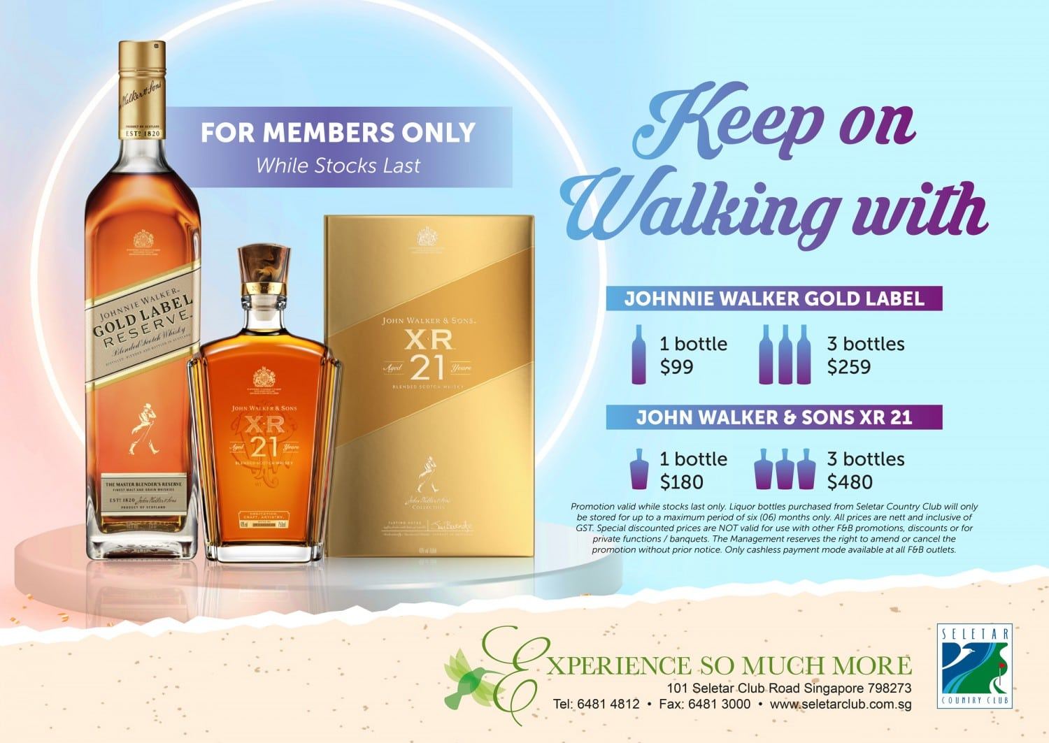 Poster for Website - Keep on Walking with Johnnie Walker (Sep -